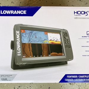 Lowrance HOOK2-9 TripleShot Transducer and US Inland Maps Fishfinder for Sale in Hayward, CA