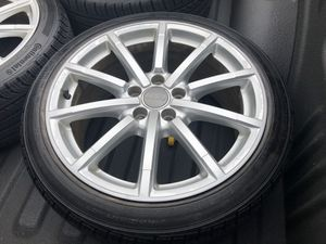 """18""""x8"""" Wheels with Tires 5x112 Bolt Pattern for Sale in Reston, VA"""