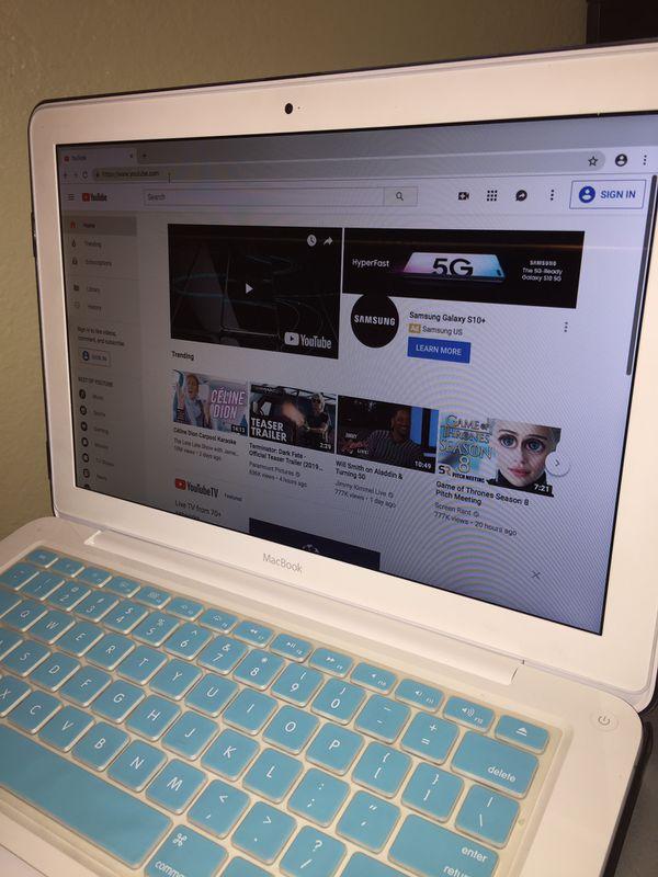 "MacBook Intel C2D-2.4G, 4Gb, 500Gb Solid StDrive, 13"" Screen, Sierra, Final Cut Pro, Logic..Great MacBook with Free new installed programs.SALE $279"