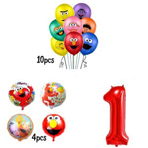 Elmo Sesame Street 15pcs Cute Foil/Latex Balloons. for Sale in Alhambra, CA