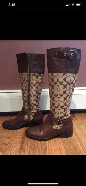 Coach Boots perfect for fall for Sale in Baton Rouge, LA