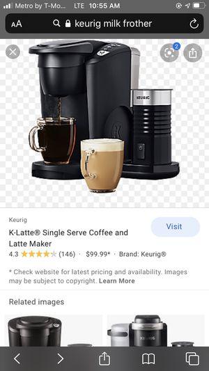 Keurig K-Latte Coffee machine for Sale in Aromas, CA