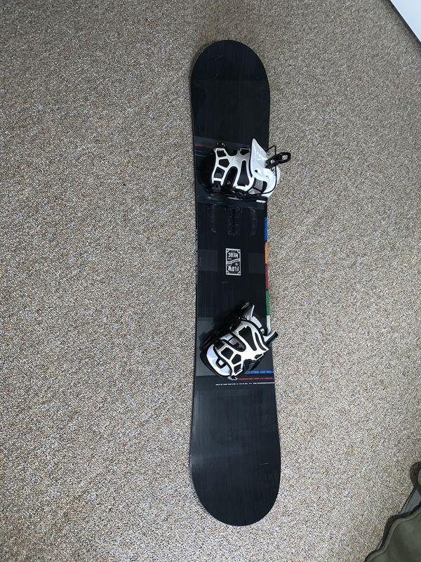 """Flow """"Merc"""" 2017 (159W size) Snowboard"""