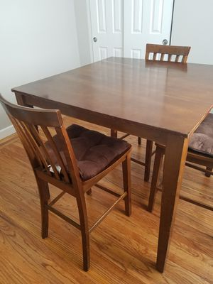 Wooden Table with Chairs for Sale in Berkeley, CA