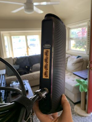 tp link 300mbps wireless n docsis 3.0 cable modem router for Sale in Lake Oswego, OR