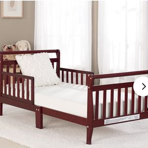 Cherrywood toddler bed brand new in the box / mattress not included for Sale in Las Vegas, NV