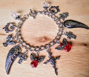 Angel theme charm bracelet for sale for Sale in San Antonio, TX