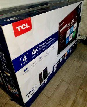 75' TCL ROKU TV for Sale in Santa Ana, CA