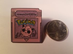 *SHIP ONLY* Gameboy Color Game Cartridge Jigglypuff Hard Enamel Collectible Pokemon Pin Badge for Sale in Phoenix, AZ