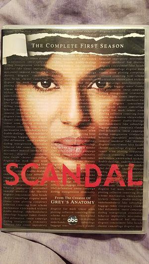 Scandal Season 1 Dvd for Sale in Wood Dale, IL
