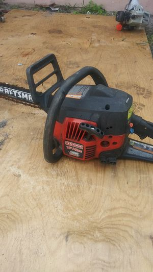 Craftsman chainsaw for Sale in Oakland Park, FL