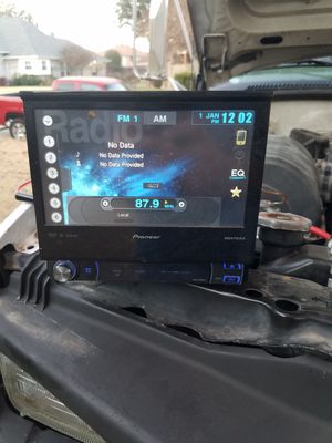 Pioneer touch screen radio single din for Sale in Arlington, TX