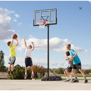 "Lifetime 46"" Adjustable Portable Basketball Hoop, 90584 for Sale in Orange, CA"