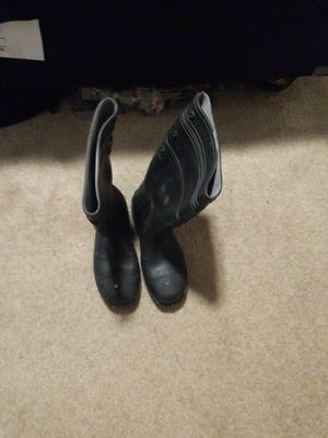 Steel toe rubber boots, size 10 for Sale in Hurst, TX
