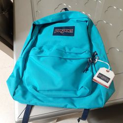 Jansport Superbreak Peacock Blue Backpack for Sale in Chula Vista,  CA