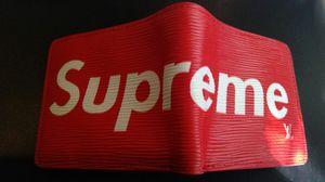 Supreme X LV wallet for Sale in San Bernardino, CA
