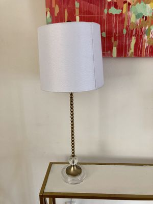 Gold Table Lamp for Sale in West Los Angeles, CA