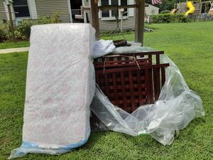 Crib and changing table and mattress... for Sale in Lewes, DE