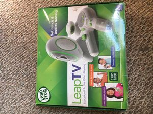 Leapfrog leapTV educational video game with 2 games for Sale in Cleveland, OH