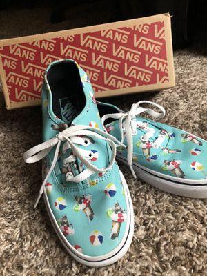 Like new Vans shoes for Sale in Prosper, TX