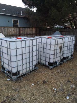 250 gallon containers for Sale in Vallejo, CA