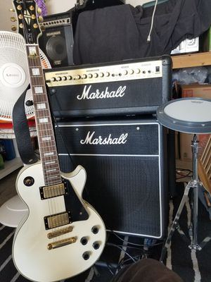 Marshall G100R CD Guitar AMP & Marshall Customized special 1X15 CAB for Sale in Rancho Santa Margarita, CA