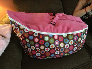 Bean bag baby chair & 2 brand new sleep sacks for Sale, used for sale  Rockmart, GA
