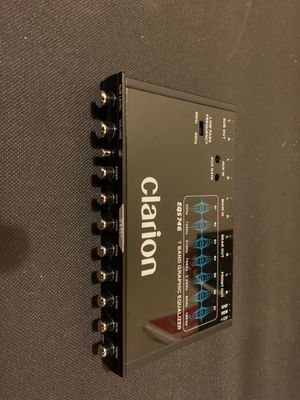 Clarion 7-band graphic equalizer for Sale in Lake Tapawingo, MO