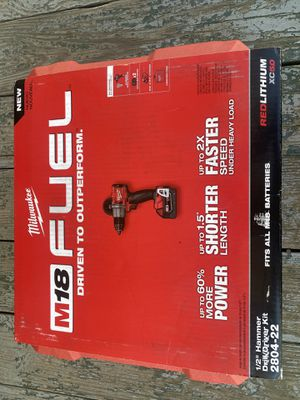 M18 FUEL hammer drill 18 V for Sale in Durham, NC