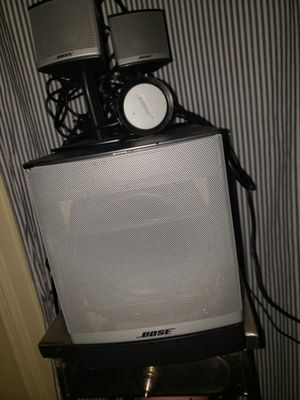 Bose companion 3 series II multimedia speaker system for Sale in New York, NY