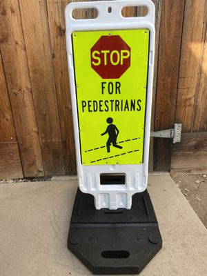 Stop For Pedestrians for Sale in Fresno, CA