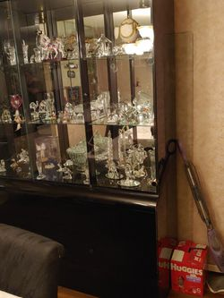 Black Laquer China Cabinet for Sale in Philadelphia,  PA