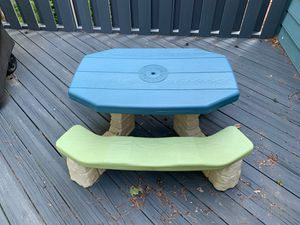 Kids picnic table for Sale in Cary, NC
