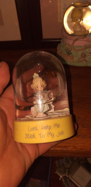 Precious moments snow globe for Sale in Sun City, AZ
