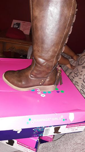 Rampage girl boots for Sale in Round Rock, TX