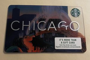 Starbucks Card, Chicago. for Sale in Westminster, CA