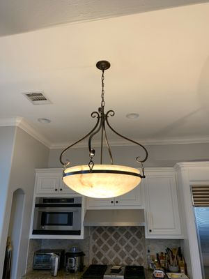 2 Kitchen bowl pendant lights for Sale in West Lake Hills, TX