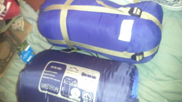 Sleeping bags $50 for both