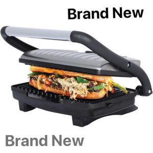 Brentwood Panini Press Sandwich Maker Kitchen Tostadora Sandwichera Stainless Steel TS-651 for Sale in Miami, FL