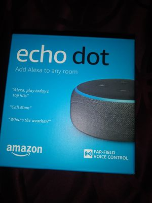 Amazon echo Dot for Sale in Stockton, CA