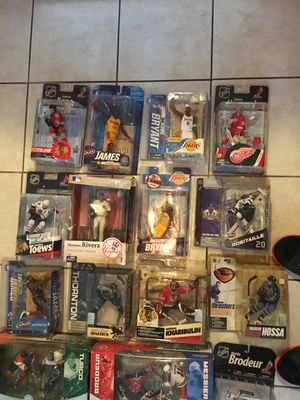 Mcfarlane Toys NFL,NHL,NBA Figures statue for Sale in Palm Harbor, FL