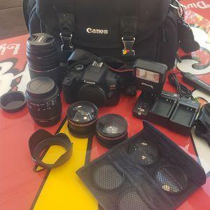 Canon EOS Rebel T6 Bundle for Sale in Costa Mesa, CA