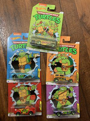 Hot Wheels Ninja Turtles set for Sale in Harbison Canyon, CA
