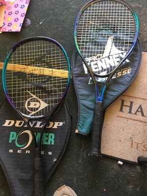 Tennis rackets. (Dunlop; Pro Kennex) for Sale in Troutdale, OR