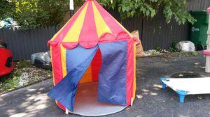 Kids circus tent for Sale in Oak Lawn, IL