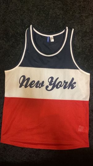 Men's New York Red/White/Blue Tank top for Sale in Kent, WA
