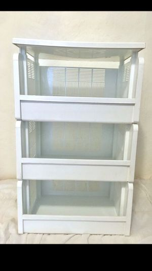 Stackable White Drawer Organizer for Sale in Dallas, TX