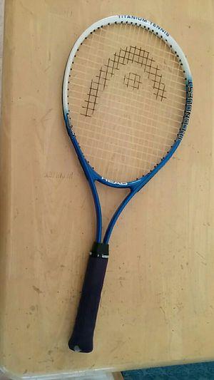 Head titanium tennis racket for Sale in Franconia, VA