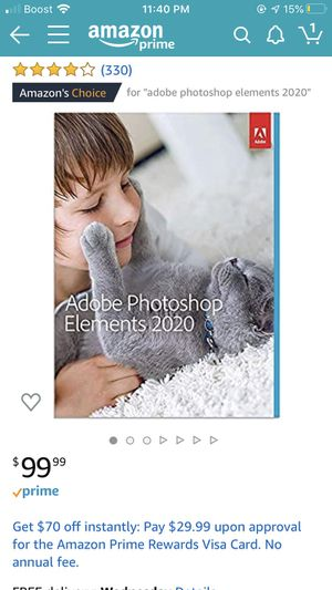 Adobe Photoshop Elements 2020 for Sale in DeBary, FL