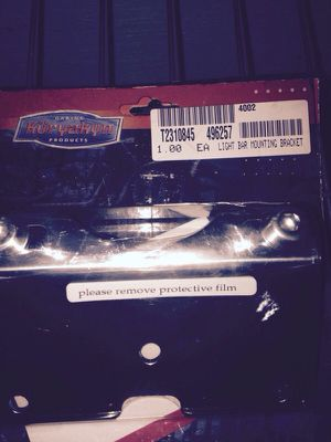 Light bar mounting bracket for Sale in Derby, CT